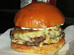 The Black Iron Burger at Black Iron Burger in midtown.