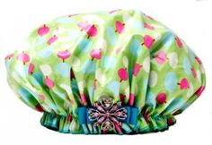 (http://bluegiraffeboutique.com/products/dry-divas-shower-cap-diva-drops.html)