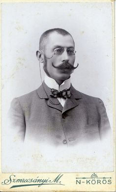 https://flic.kr/p/yBub1P | Mustache and pince-nez... |