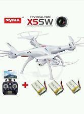 Drone WIFI FPV 2.4Ghz 4CH 6-Axis RC Quadcopter 2MP Camera HD RTF Military Grade