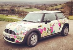 I <3 this mini in the Joules print ~ fingers crossed I win the competition!