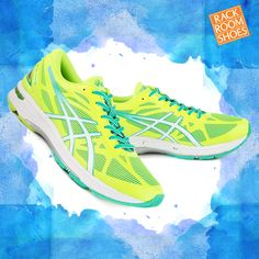 Pro tip: keep up with the kids this summer in a pair of comfy, bright running shoes like these ASICS! #Fitspo