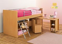bed-table- this could be a great space saver!