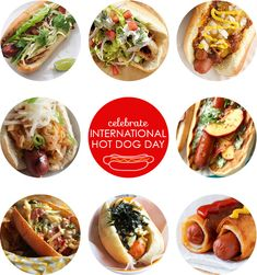 Hot dog toppings for International Hot Dog Day | Squirrelly Minds