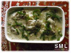 Ragoût d'huîtres aux patates douces et aux poireaux