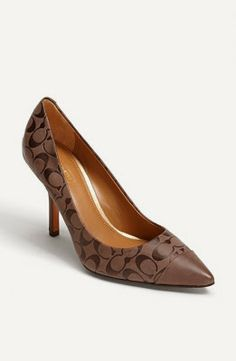 My Crafty Collections: Bargain Bin: Save 50% On These Coach Pumps. Plus, Free Shipping!