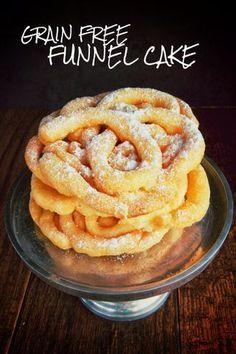 Gluten & Grain Free Funnel Cake! (Dairy & Nut Free) | Real Sustenance | Bloglovin'