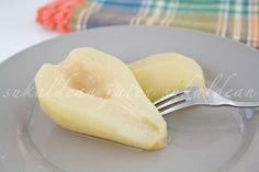 e-cocinablog: peras en almíbar