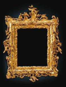 Italian Carved Gilt-wood Frame   Venice, circa 1770