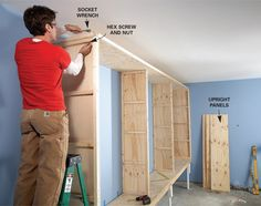 Store Camping Equipment Tools Toys And Even Clothes In This Oversized Garage Or Basement Storage Cabinet Sliding Doors Keep Everything Clean