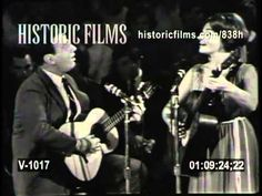JUDY COLLINS & THEODORE BIKEL - Kisses Sweater Than Wine 1963 from HOOTENANNY - YouTube