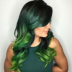 "666 Likes, 30 Comments - Las Vegas, NV    Hair Colorist (@kateloveshair) on Instagram: ""GO GREEN """