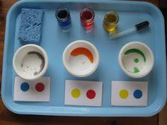 mélange de couleurs