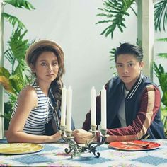 """""""Table for two 🍴Let's take our sweet time to appreciate one of our favorite love teams this 💕 Philippines Outfit, Foul Play, Daniel Padilla, Kathryn Bernardo, Relationship Goals, Love Story, Asian Girl, Appreciation, Birthday Parties"""