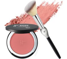 IT Cosmetics Bye Bye Pores Anti-Aging Silk Pressed Blush w/ Brush