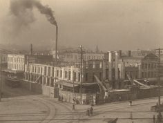 Demolition of the old Exchange Hotel, Montgomery, AL, November 10, 1904. From the ADAH Digital Archives : Item Viewer