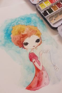 Monica Custodio Watercolors!