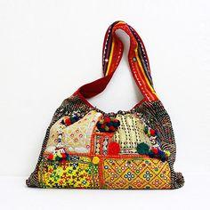 Indian patchwork purse