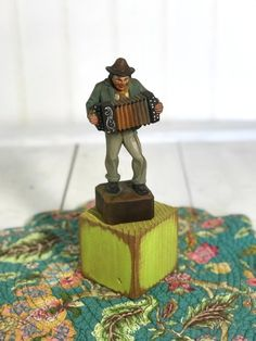 Your place to buy and sell all things handmade Carved Wood, Hand Carved, Vintage Office Decor, Wooden Man, Sheffield Silver, Leaf Bowls, Wooden Figurines, Natural Cleaning Products, Father And Son
