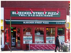 Bleecker Street Pizza, delish!