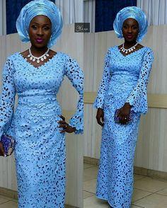Laser cut goodness. Makeup by @y_glam. Dressed in @dainty_fabrics.  #africansweetheartweddings #bride #asoebi