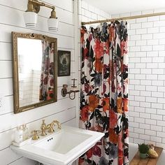 For Now, I am Summer — FarmHouse Bathroom @countrylivingmag...