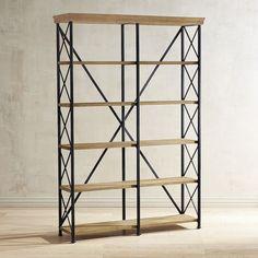 Metro Java Tall Bookcase | Pier 1 Imports