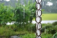 Upcycled Garden Style. . . a website from Gardens Inspired: Create a garden rain chain