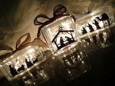 Love the Nativity scene? This is a great, new way of making it come alive in your home this year.