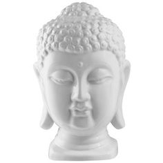 Amorita Buddha Statue in White... dCOR Designs - Inspired & Modern Accents, Tabletop & Mirrors on Joss and Main