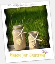 DIY  Lanterns: DIY Lanterns DIY Home DIY Decor:Mason Jar Lanterns... Revisiting.. *Seasonal Inspirations*