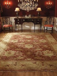 Reminiscent of 15th and 17th century Turkish designs, the Briarcliffe Area Rug offers warmth, elegant style and plush comfort underfoot.