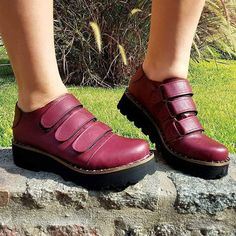 Fashion Pu Leather Magic Tape Loafers Womens Casual Shoes – cuteshoeswear loafers for women how to wear loafers loafers outfit work loafers outfit fall loafers with socks Loafers With Socks, How To Wear Loafers, Loafers Outfit, Casual Loafers, Loafers For Women, Loafer Shoes, Casual Shoes, Custom Shoes, Fashion Shoes
