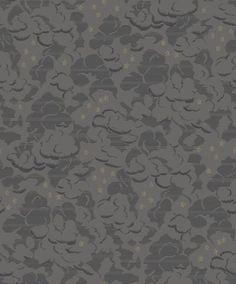 Silver Lining Noir wallpaper by Sophie Conran
