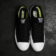 Sepatu Converse All Star Ct Ii Low Black White Premium Original