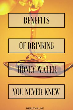 Do you know what happens if you drink a glass of water together with honey? Drinking honey and lemon mixed with warm water every morning on an empty stomach is often touted as the best way to lose weight.