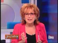Joy Behar: People Like Romney and Ryan Are 'Trying to Kill Us' >> Ignorance runs deep with this woman...  This is what the handful of Current TV viewers will be treated to when this woman's show debuts next month.    Fired by HLN...now another show?