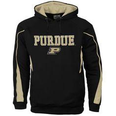 Purdue Boilermakers Renegade Pullover Hoodie - Black