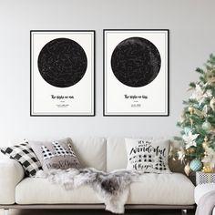 Greif nach den Sternen. Erlebnisse erzählen Geschichten. Hol Dir deinen Sternenhimmel passend zu Weihnachten nach Hause. #geschenkidee #geschenke #weihnachten #weihnachten2020 #sternenhimmel #sternenkarte #nachthimmel #astronomie #babygeschenke #babygeschenkideen #jahrestag #personalisiertegeschenke Tapestry, Inspiration, Poster, Home Decor, Astronomy, Map Of The Stars, Night Skies, Last Minute Gifts, Personalized Gifts