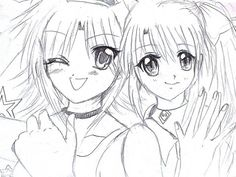 friends anime dirls
