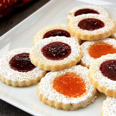 Classic thumbprint cookie recipe..so good!