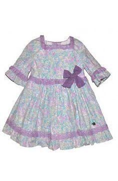 Vestido de niña Dolce Petit Nueva Coleción color morado