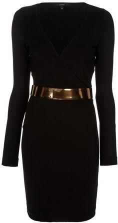 GUCCI Wrap Dress + Metal Belt-Love it!