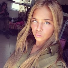 Pictures of Israeli Female Soldiers In and Out of Uniform Idf Women, Military Women, Israeli Female Soldiers, Israeli Girls, Outdoor Girls, Brave Women, Military Girl, Girls Uniforms, Beautiful Women