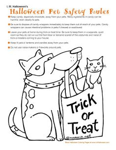cochise coloring page see more carefree artist halloween pet safety rules