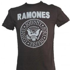 Celebrities who wear, use, or own Ramones t-shirt. Also discover the movies, TV shows, and events associated with Ramones t-shirt. Ramones T Shirt, Hey Ho Lets Go, Rocker Chick, 80s Outfit, Cheap Online Shopping, Band Shirts, Mens Xl, Vintage Men, Shirt Designs
