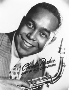 """Bird"" ~  Charlie Parker was a pioneering jazz alto-saxophone player, bebop musician,composer. His fast, virtuosic playing,clean tone,and improvisational abilities greatly influenced other musicians at the time. His innovation in writing songs, using complex chord progressions and revolutionary harmonic form, changed the standards for composition and greatly influenced other jazz artists. Parker helped to contribute to the hipster persona associated with jazz."