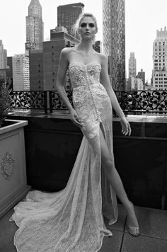 See photos of Inbal Dror's 2016 wedding dress collection.
