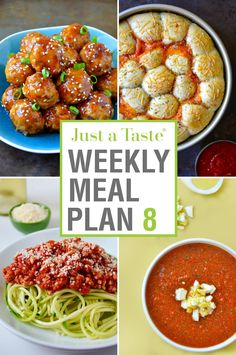 Make meal time a breeze with a week's worth of dinner recipes starring comfort foods the entire family will love.