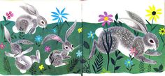 Bunny Button Page by Neato Coolville, via Flickr